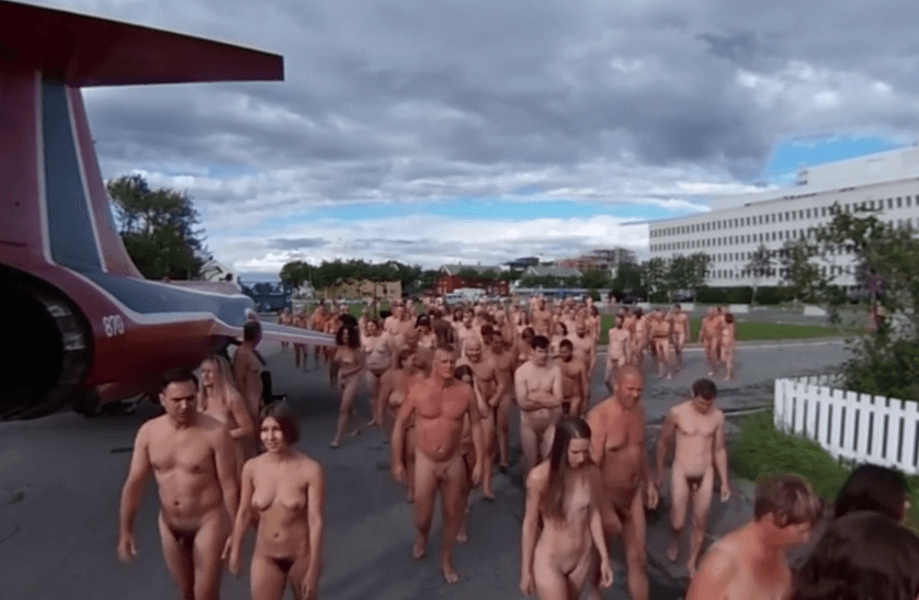 Spencer Tunick Bodø Bodyscape